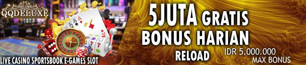Bonus harian judi online terbesar